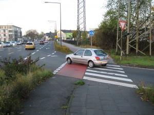 Tägliche Diskriminierung von Radfahrern
