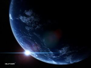 Raumzeit (Bild: DLR/ESA/Tim Pritlove)