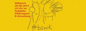 Großartiges BSWK-Biergarten-Logo von Katja Machill.