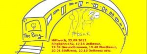 Großartiges BSWK-Ringbahn-Logo von Katja Machill.