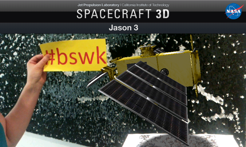 BSWK goes space. Bild: WiD