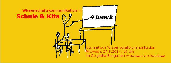 BSWK: Wissenschaftskommunikation in Schule und KiTa. Bild: Katja Machill