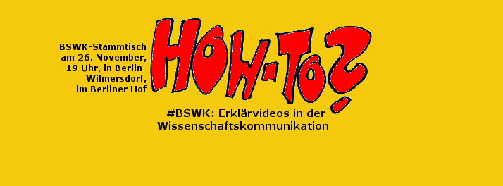 BSWK: How to video. Bild: Katja Machill