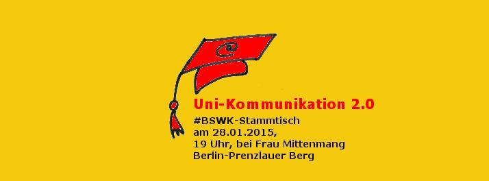 BSWK zur Hochschul-Kommunikation 2.0 - Bild: Katja Machill