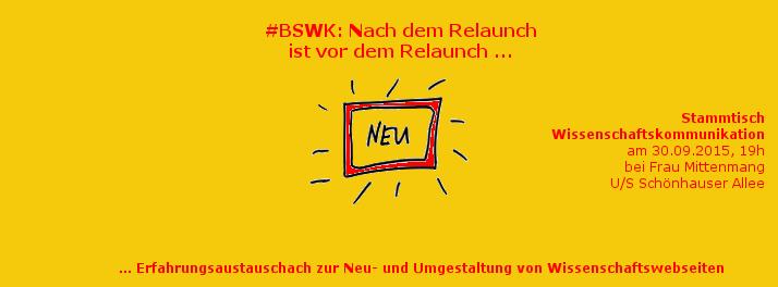 BSWK 30.9.2015: Webseiten-Relaunch. Bild: Katja Machill