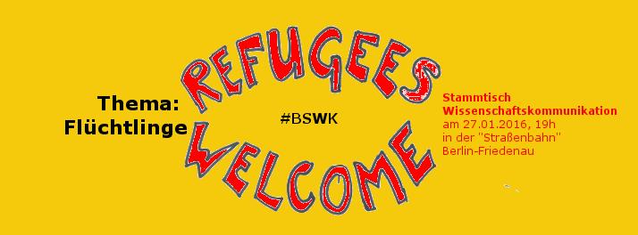 BSWK zu Geflüchteten. Bild: Katja Machill